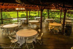 Pavilion Wedding Reception