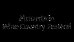 mountain wine country festival logo