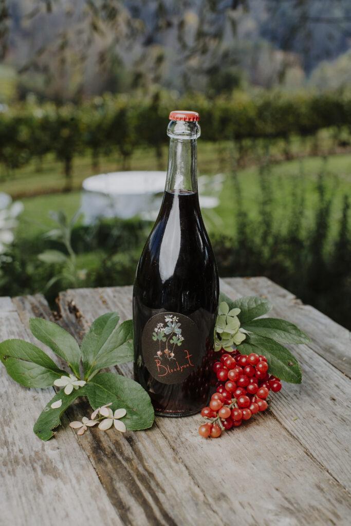 bloodroot bottle