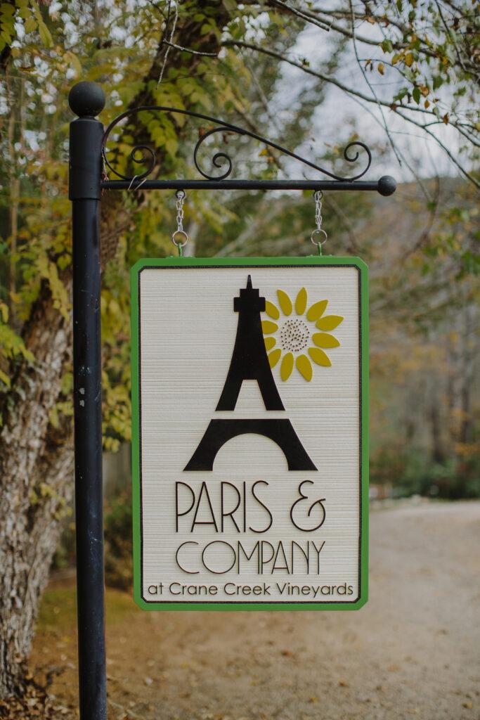 paris & company sign